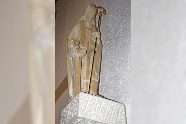 Neue Statue wurde gesegnet