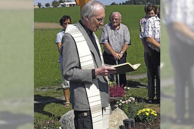 Pfarrer Hans Moser geht im Juni