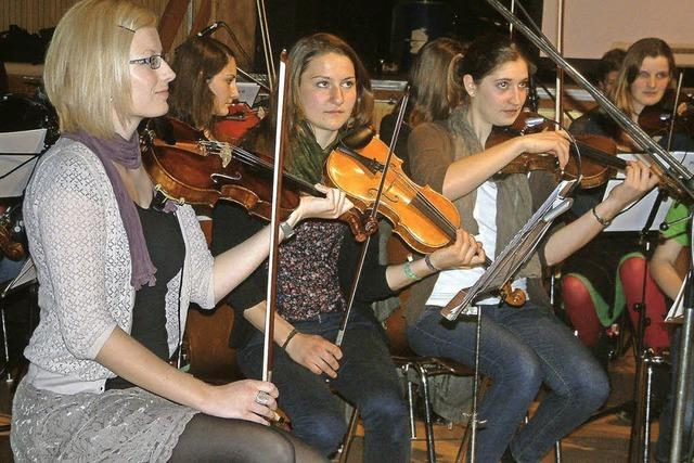 Geige gesucht, Musikschule entdeckt