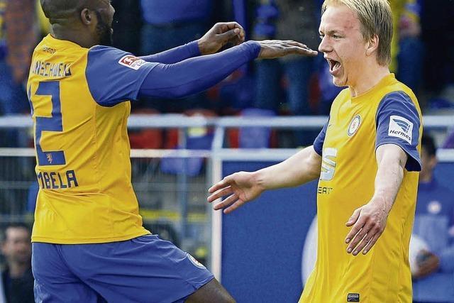 Eintracht Braunschweig ist weiter im Aufwind