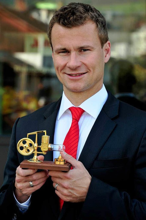 Ein Sieger beim Jobmotor 2013: Julabo ...r ist Geschäftsführer Markus Juchheim.    Foto: Thomas Kunz