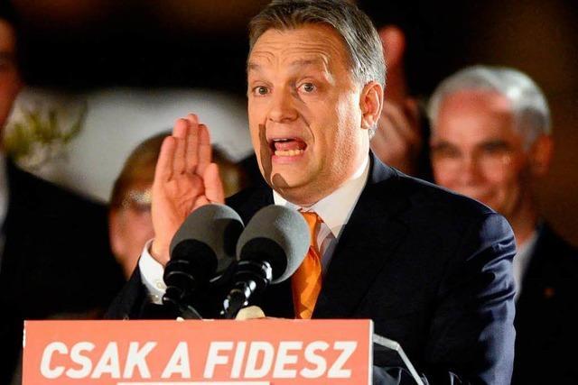 Orban gewinnt Parlamentswahl in Ungarn