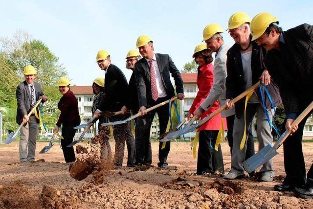 Baubeginn für Schulneubau im Mauerfeld