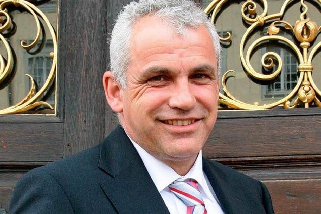 Peter Schwinn wird neuer Feuerwehr-Chef