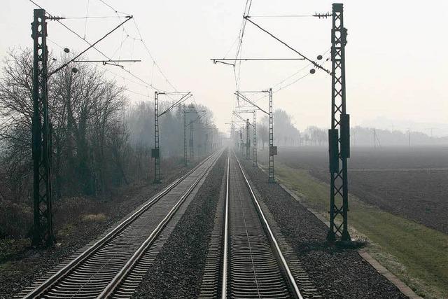 Südliche Rheintalstrecke wird zur Großbaustelle