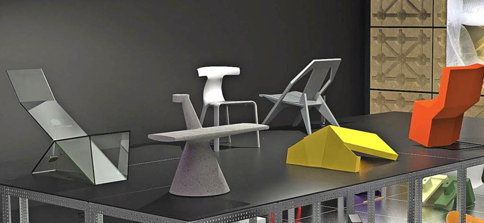 Objekte von Konstantin Grcic   | Foto: Vitra Design Museum