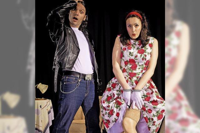 Petticoat & Pomade Show von Moni Francis und Buddy Olly
