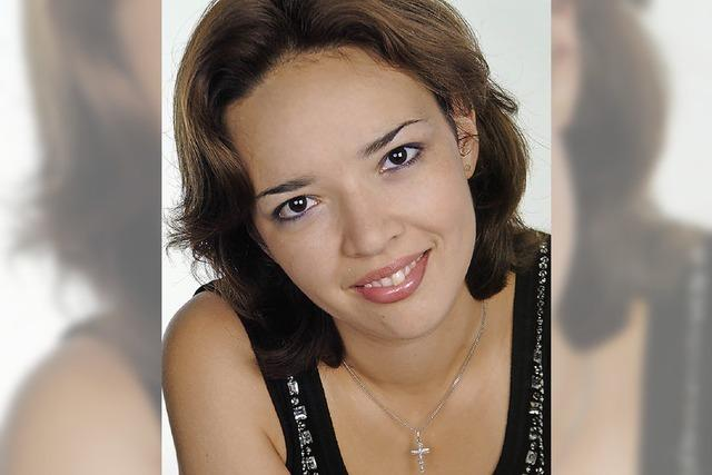 Pianistin Ekaterina Danilova im depot.K
