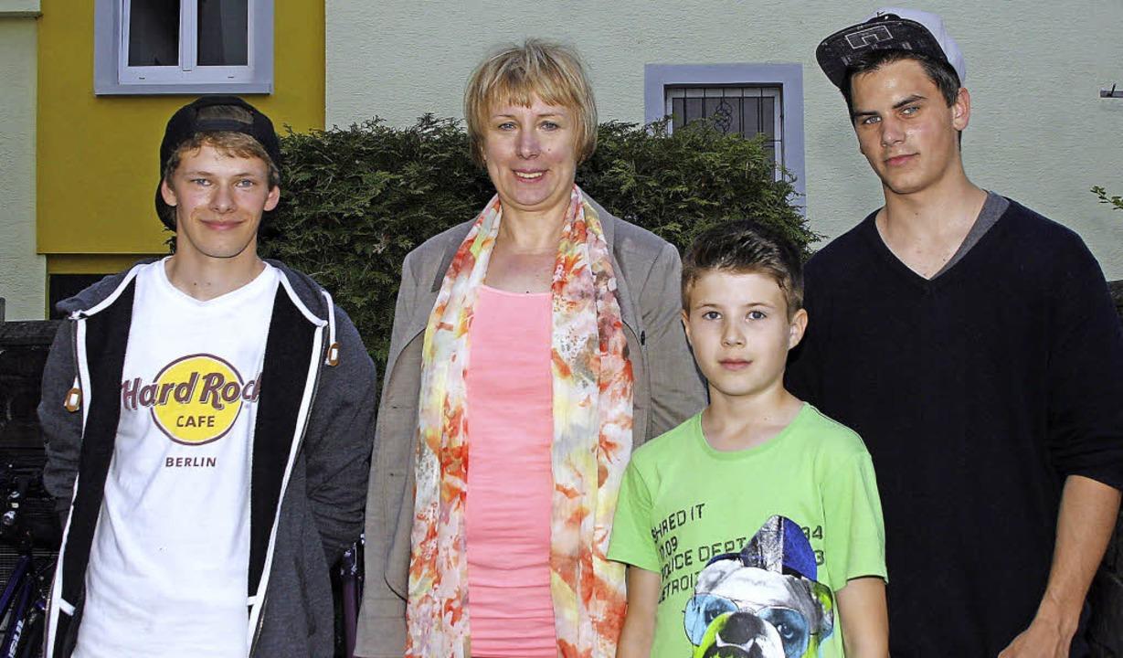 Mike Hertenstein, Heike Dolenga, Marku...meinderäte registrierten das erfreut.   | Foto: heidi fössel