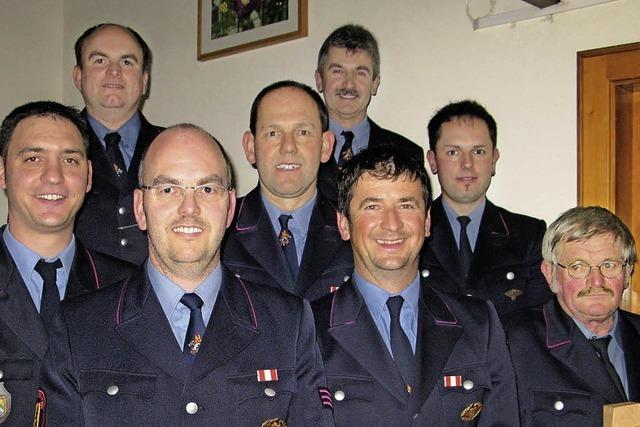 Seit 45 Jahren Mitglied der Feuerwehr