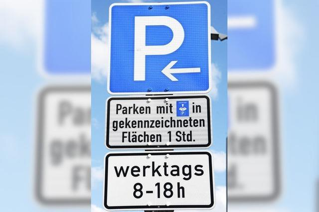Neue Parkordnung und Radlertransit