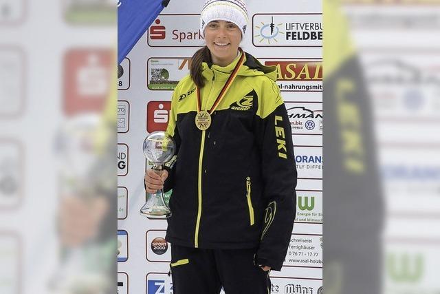 Franziska Schöttler vom Ski-Club Todtnau landet auf Platz 3