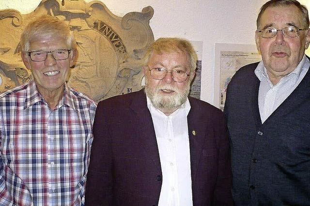 Zwei neue Ehrenmitglieder beim Kameradschaftsbund