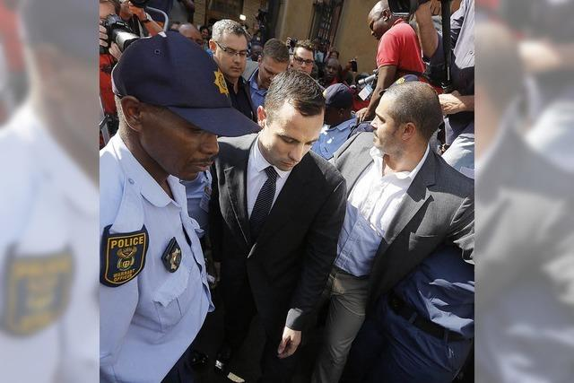 Pistorius bricht weinend zusammen