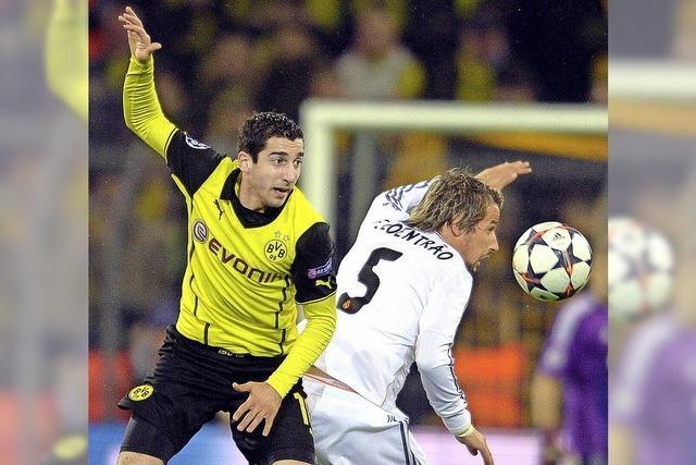 Kein Fußball-Wunder für Borussia Dortmund gegen Real Madrid