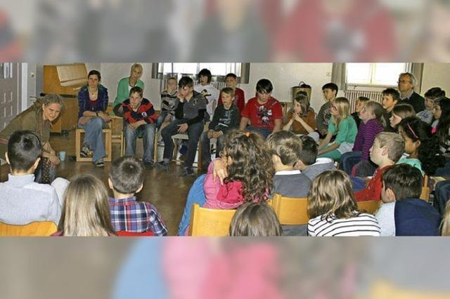 Leseratten in der Sprachheilschule