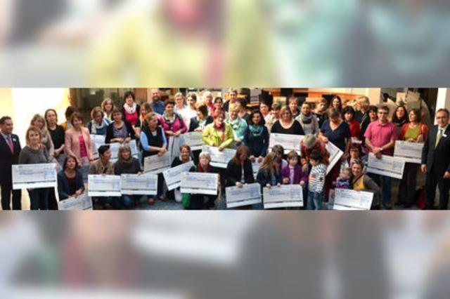 30 000 Euro für 60 Kindergärten