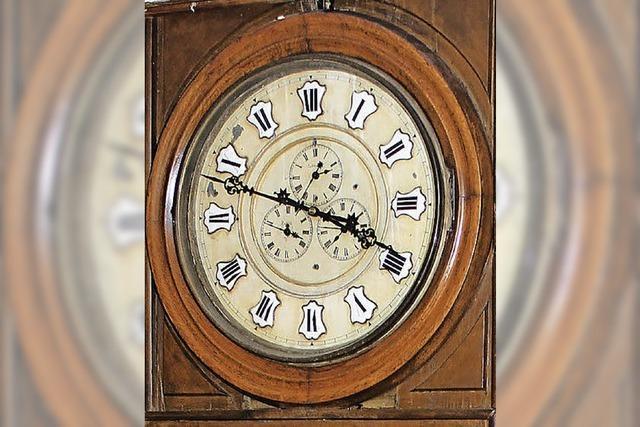 Uhrwerk von Johann Beha wird enthüllt