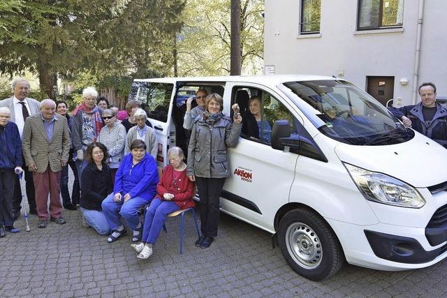 Ein neuer Bus für Ausflüge in die Region