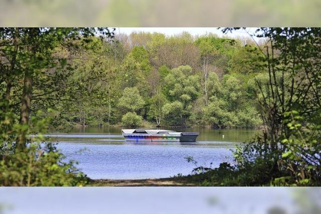 Zu still ruht der Waltershofener See