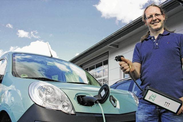 Ein Herz für Elektroautos