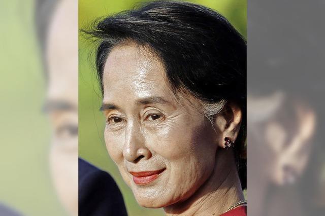 Aung San Suu Kyi: Fast schon eine ganz normale Politikerin