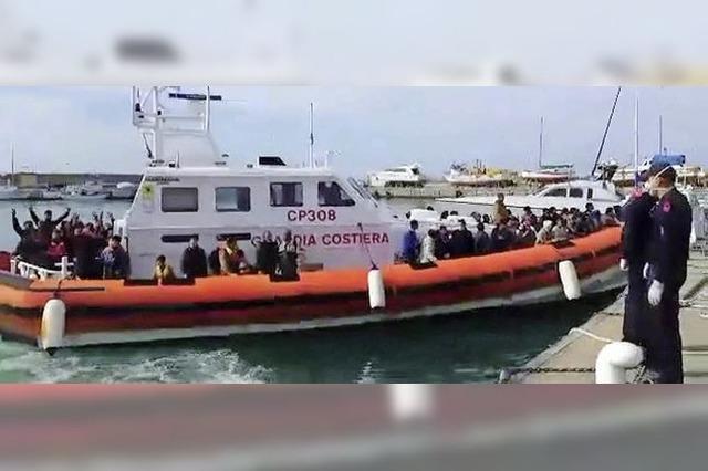 Italien warnt vor Ansturm der Armen