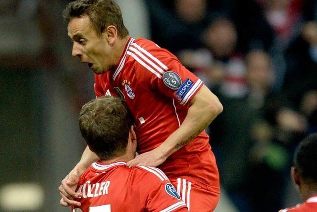 Champions League: Der FC Bayern erzwingt das Halbfinale
