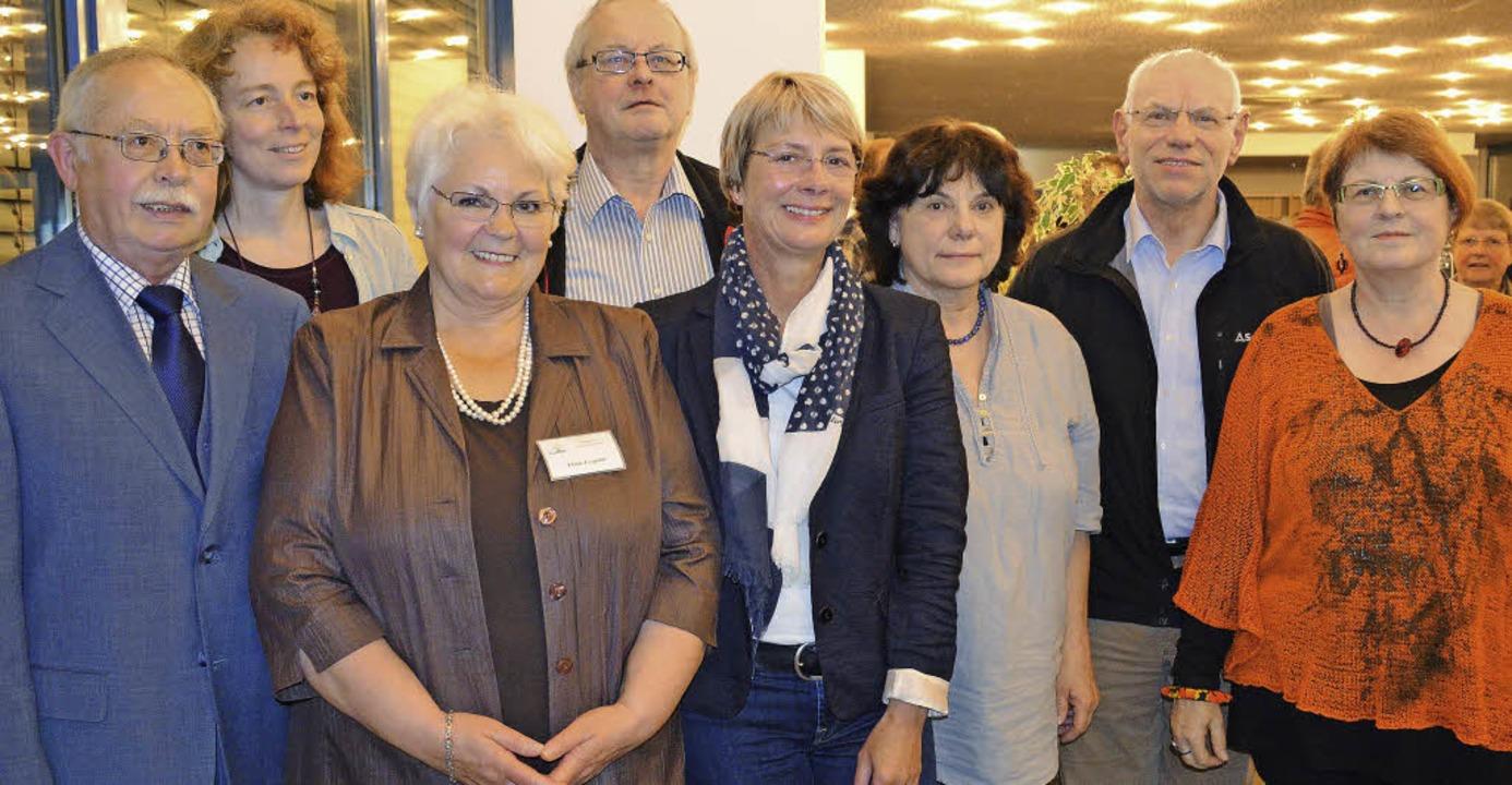 Der neue Vorstand des Förderkreises:  ...Wiltrud Heinzelmann-Weber (von links)   | Foto: Britta Wieschenkämper