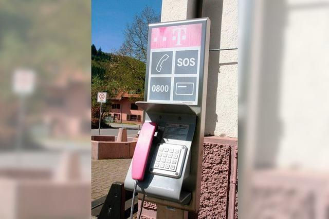 Notruf im Funkloch: Langenau und Gersbach kämpfen um ihre Telefonzellen