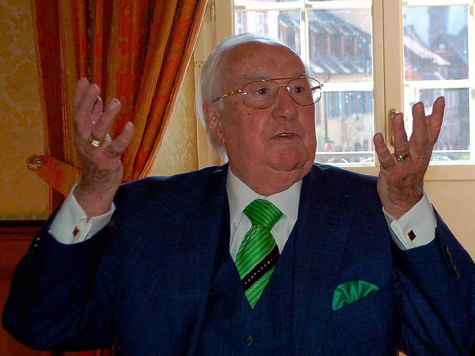 Firmengründer und -besitzer Erwin Junker  | Foto: Röderer Hubert