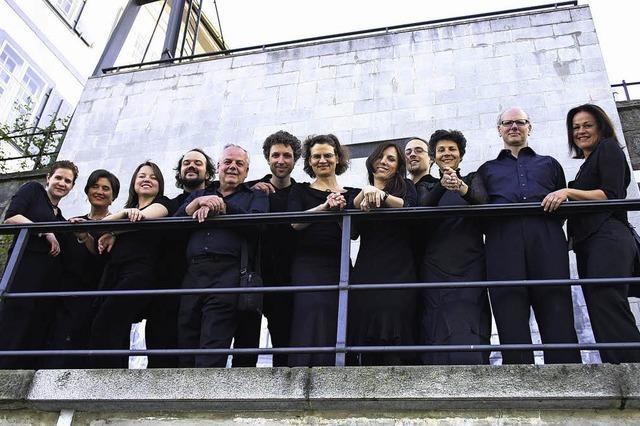 Gemeinsames Konzert der Basler Madrigalisten und des Neuen Orchesters Basel