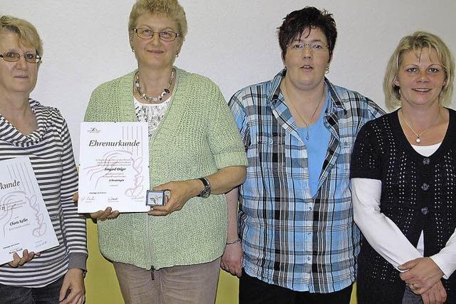 Irmgard Dilger ist nun Ehrenmitglied