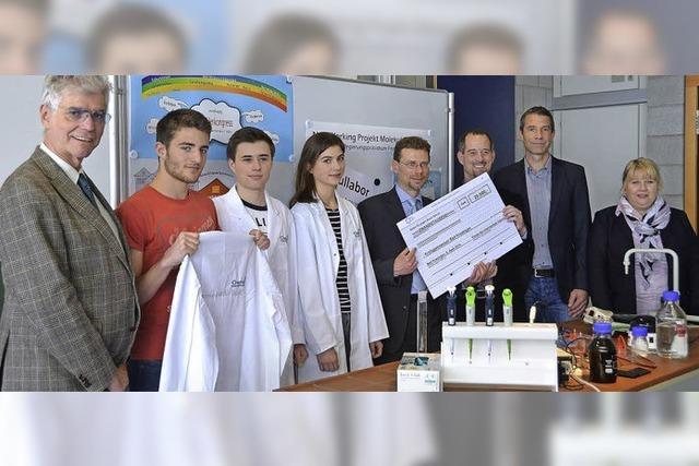 Kräftige Finanzspritze für junge Molekularbiologen