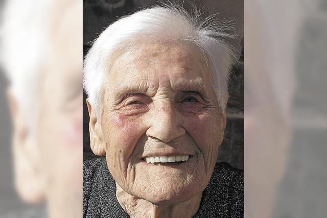 In der Senioren-Wohngemeinschaft ist sie die Älteste