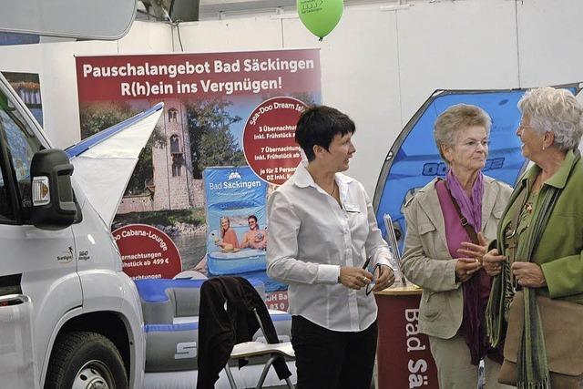 Bad Säckingen präsentierte sich auf der Regio-Messe