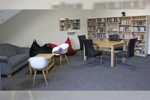 Bibliothek wird gut angenommen