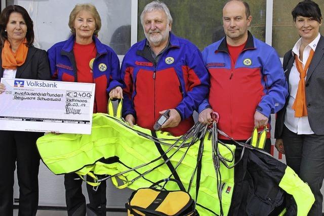 2400 Euro für Bergwacht