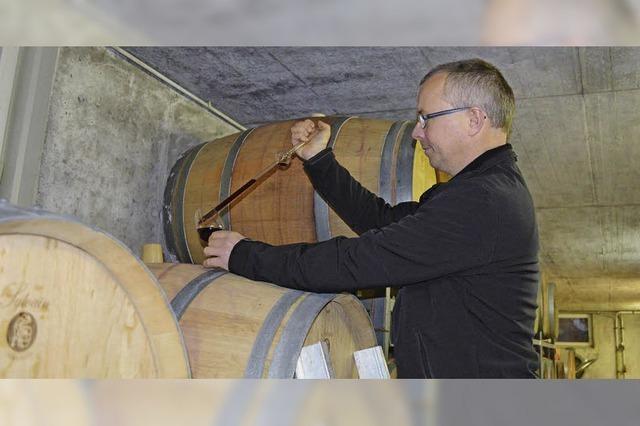 Idyllisch ist der Weinbau eher selten