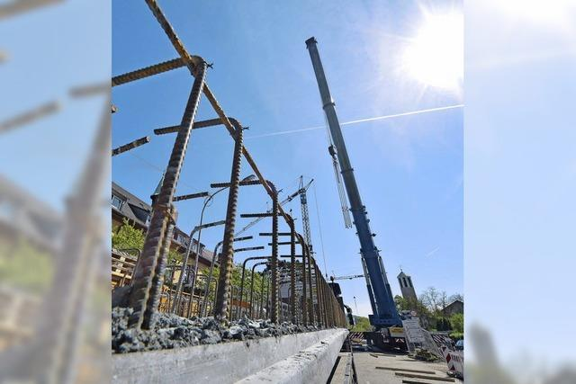 Brückenbau kommt voran