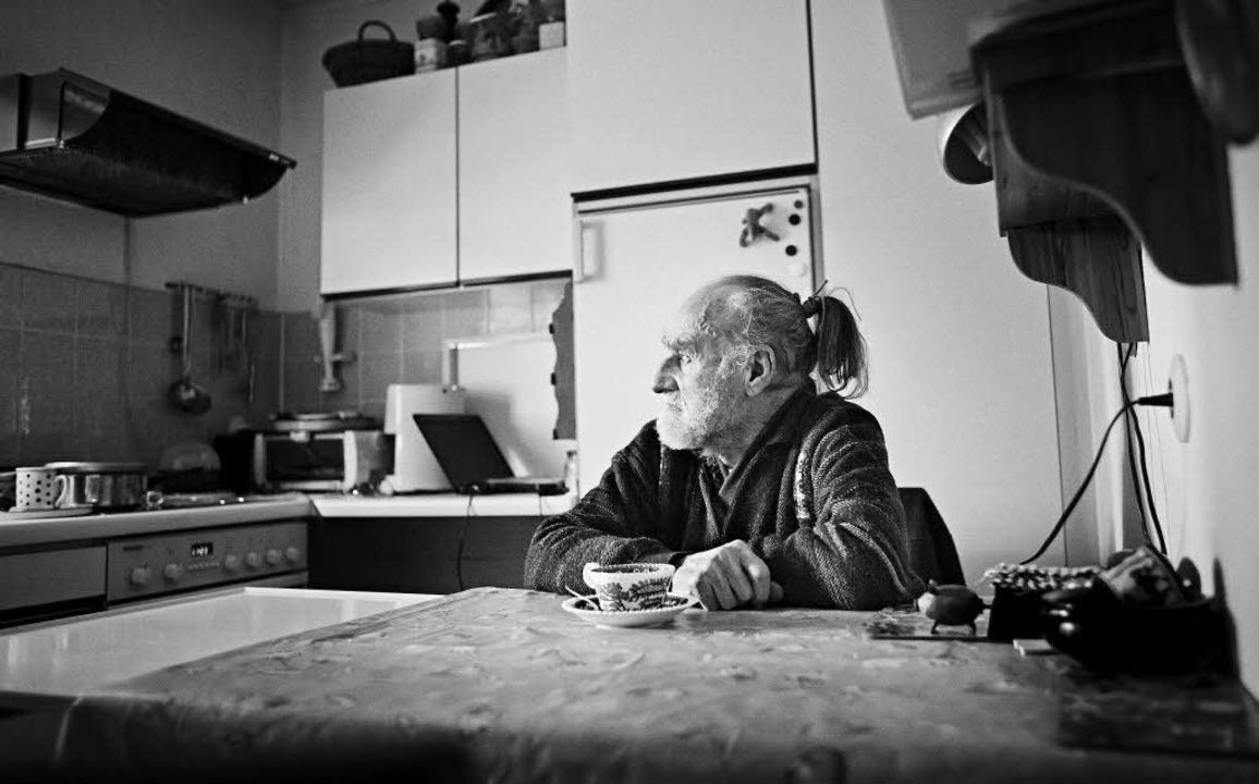 Hermann Vetter will, dass alles gut ge...in seinem Leben – auch der Tod.   | Foto: Heinz Heiss
