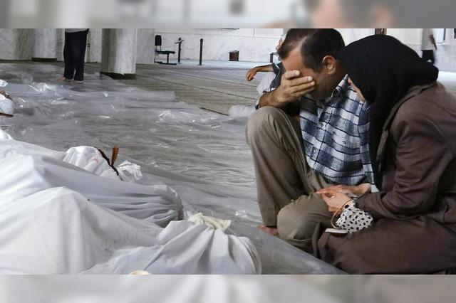 Bei Vernichtung der syrischen Chemiewaffen werden Fragen auftauchen