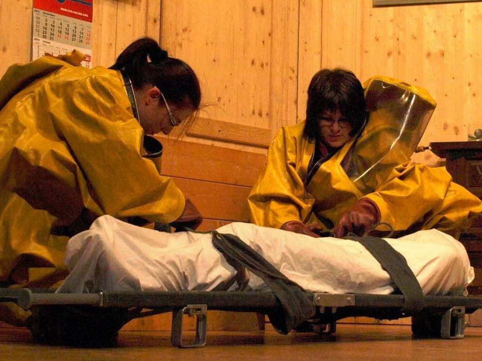 Eindrücke von der Theateraufführung des HC Albtal.  | Foto: Karin Stöckl-Steinebrunner