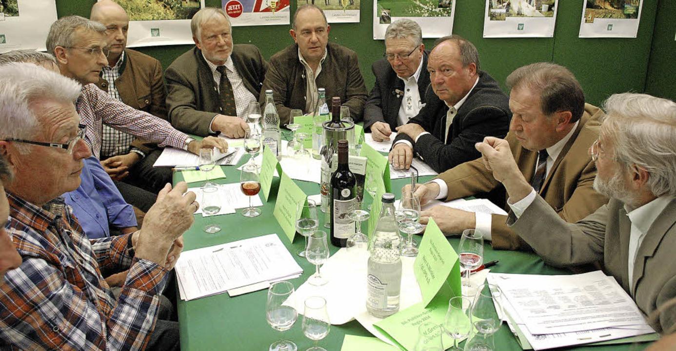 Jäger und Politiker aus der Region dis... auf der Regio-Messe sehr kontrovers.   | Foto: Mink