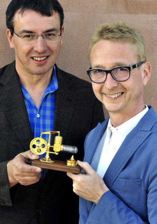 Die Geschäftsführer Thomas Balzer (li.) und Michael Hornbruch    Foto: Thomas Kunz