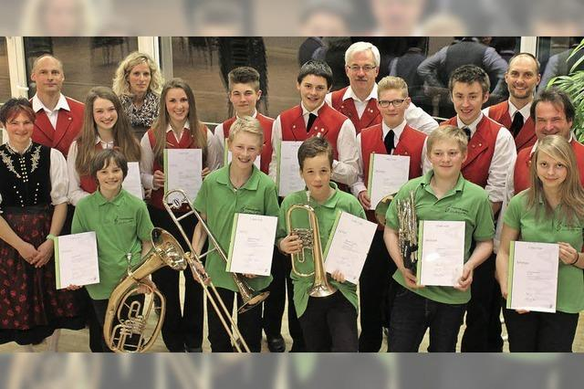 Jungmusiker beweisen ihre Klasse