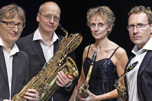 Pindakaas Saxophon Quartett in Waldshut