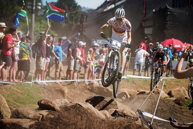 Mountainbikerin Adelheid Morath stürzt schwer