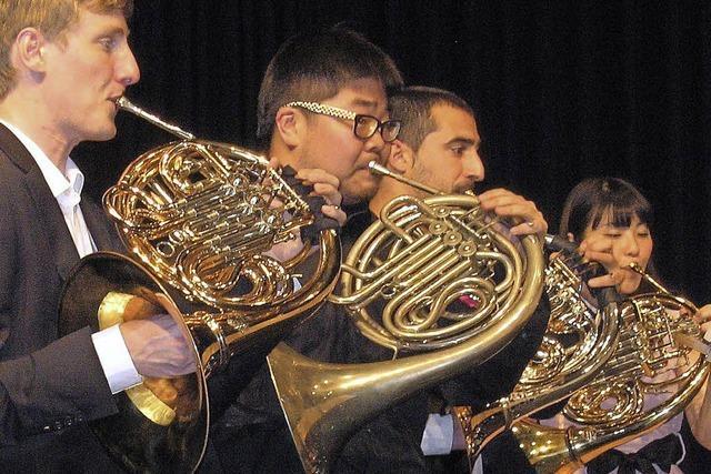 Selten zu hören: ein Konzert nur mit Hörnern