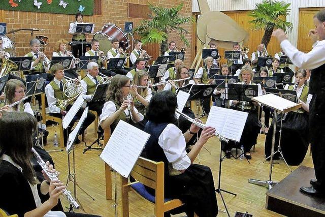 Musikverein tritt tierisch gut auf